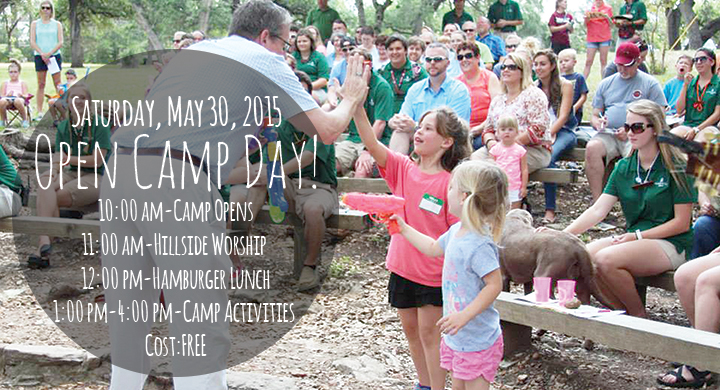 Open Camp Day 2015 Banner