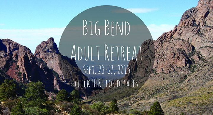 Big Bend Retreat Banner