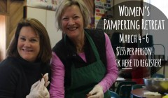 Womens Pampering Retreat 2016
